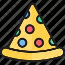 eat, food, italian food, kitchen, pizza, pizza food, pizza slice icon