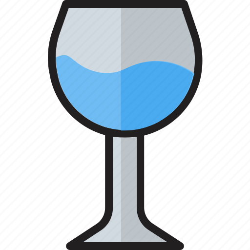 Alcohol, alcohol glass, beer glass, champagne, drink, glass, wine icon - Download on Iconfinder