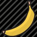 banana, banana milkshake, cooking, food, fruit, healthy, milkshake icon