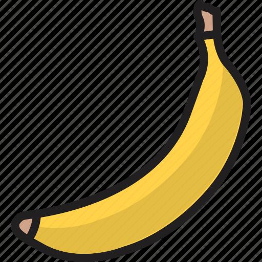 Banana, banana milkshake, cooking, food, fruit, healthy, milkshake icon - Download on Iconfinder