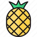 ananas, food, fruits, healthy, pineapple, sweet, tropical