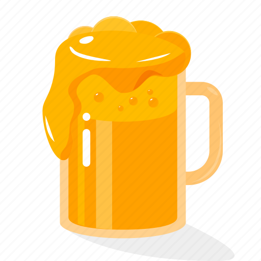 beer, drink, food icon