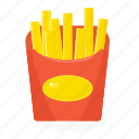 food, french, fries icon