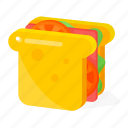 food, toast icon