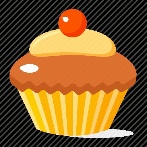cupcake, food, fruit icon