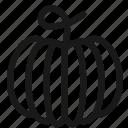 food, fruits, pumpkin, vegetables icon