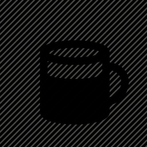 Beverage, breakfast, coffee, cup, drink, full mug, mug icon - Download on Iconfinder
