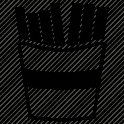 french, fries, potato icon
