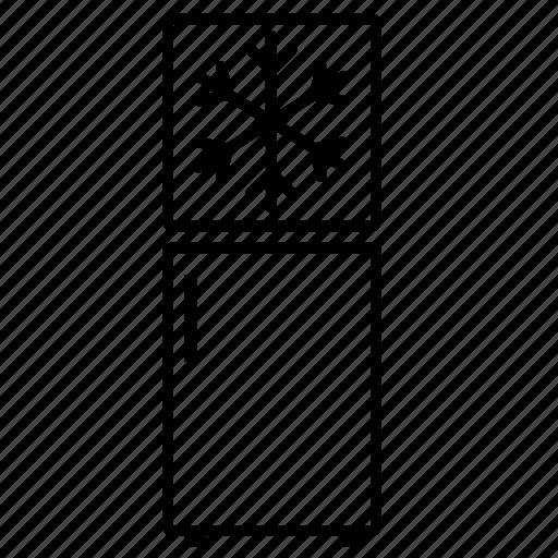 freezer, fridge icon