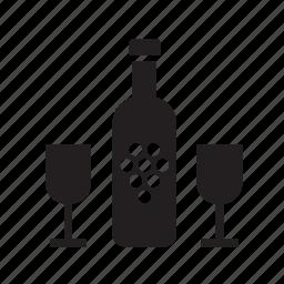 beverage, drink, drinking, glass, wine icon