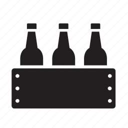 beer, beverage, box, case, drink, drinking icon