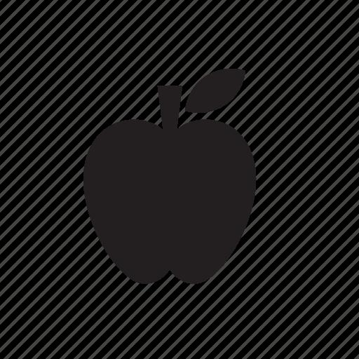 Apple, eat, food, fruit icon - Download on Iconfinder