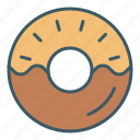 donut, eat, food, sweet icon