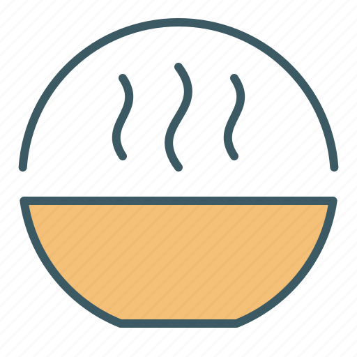 Bowl, circle, cooking, eat, food, soup icon - Download on Iconfinder