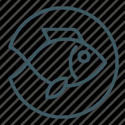 fish, marine, seafood icon
