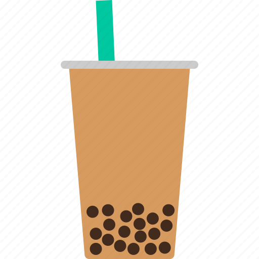 boba, bubble, milk, pearl, tapioca, tea, yung marc icon