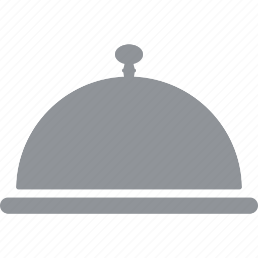 cloche, food, hot, plate, platter, restaurant, serving icon