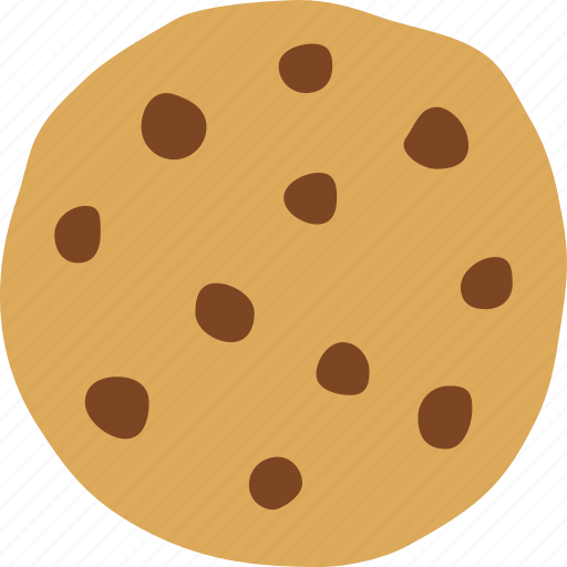 bakery, baking, chip, chocolate, cookie, dessert, snack icon