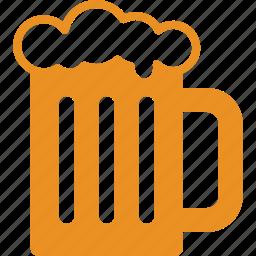 alcohol, bar, beer, drinking, mug, oktoberfest, tankard icon
