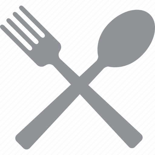 cutlery, dining, eat, eating, fork, silverware, spoon icon