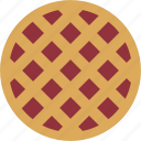 bake, bakery, baking, berry, cherry, pie, strawberry icon