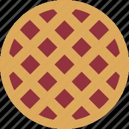 bake, bakery, baking, berry, cherry, pie, strawberry icon