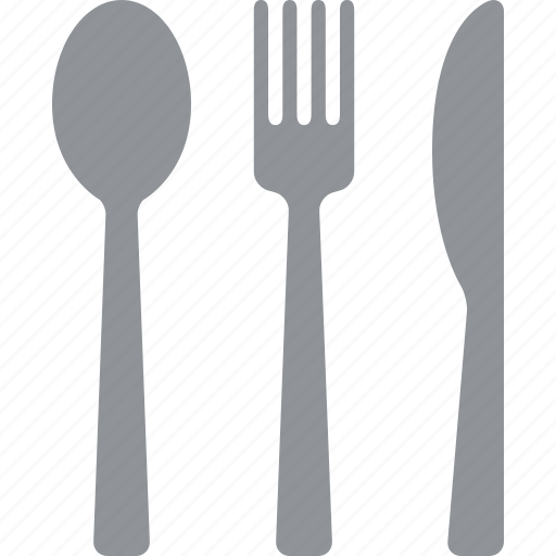 cutlery, fork, kitchen, knife, silverware, spoon, utensils icon