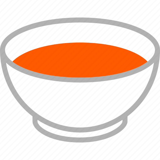 bowl, broth, food, liquid, soup, tomato, tomatoe icon