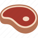 beef, dinner, food, ham, meat, sirloin, steak icon