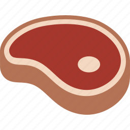 beef, dinner, food, ham, meat, sirloin, steak icon