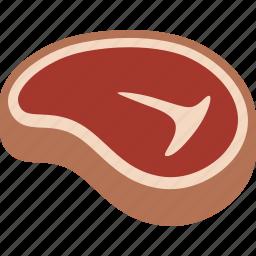 beef, dinner, food, meat, steak, t-bone, tbone icon