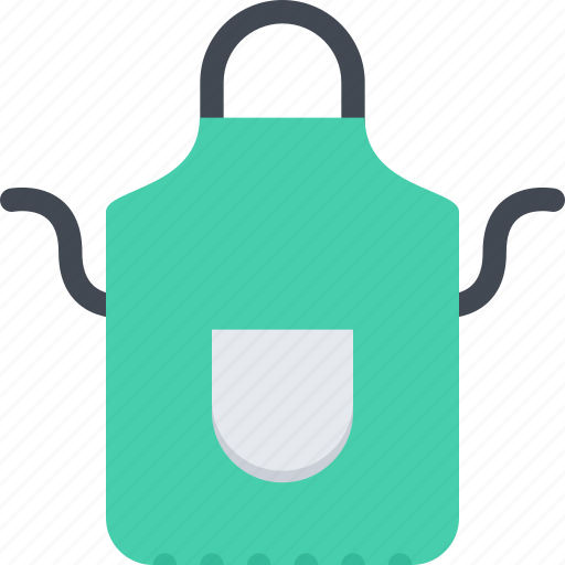 apron, barbecue, drink, food, store, supermarket icon