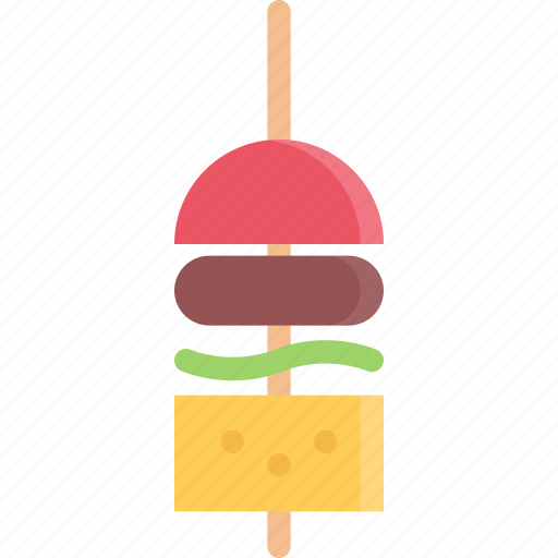 barbecue, canape, drink, food, store, supermarket icon