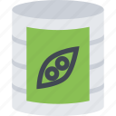 barbecue, canned, drink, food, peas, store, supermarket icon