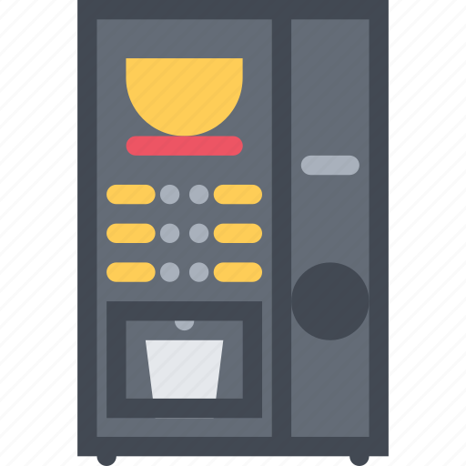 barbecue, coffee, drink, food, machine, store, supermarket icon