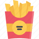 barbecue, drink, food, french, fries, store, supermarket icon