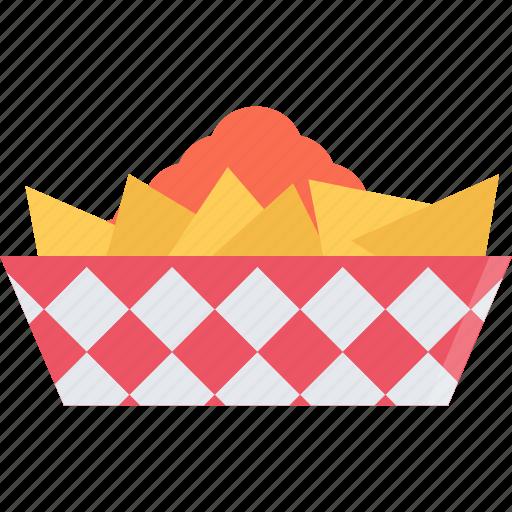 barbecue, drink, food, nachos, store, supermarket icon