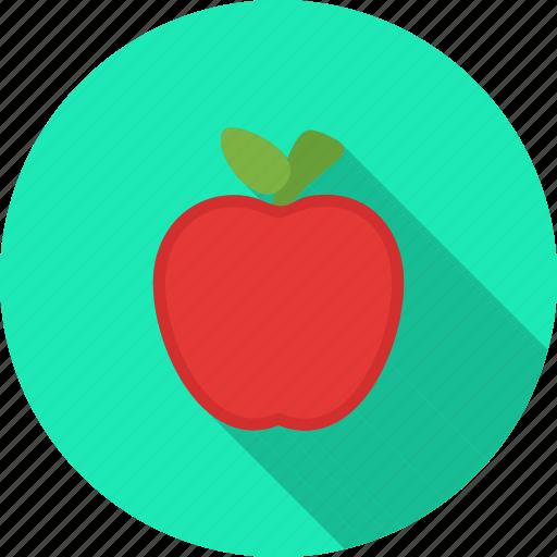 apple, eat, food, fruit, healthy, juicy, sweet icon