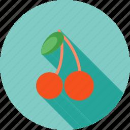 berry, cherries, cherry, eat, food, fresh, natural icon