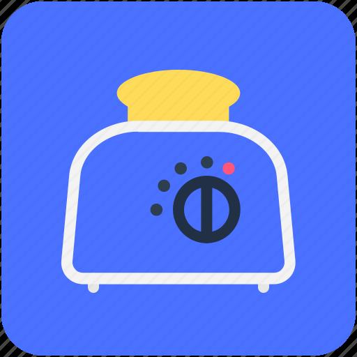 electricals, electronics, slice toaster, toast machine, toaster icon