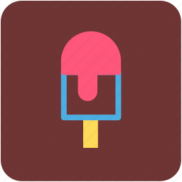 freeze pop, ice cream, ice lolly, ice pop, popsicle icon