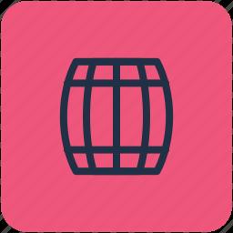 barrel, cask, keg, oktoberfest, wine barrel icon