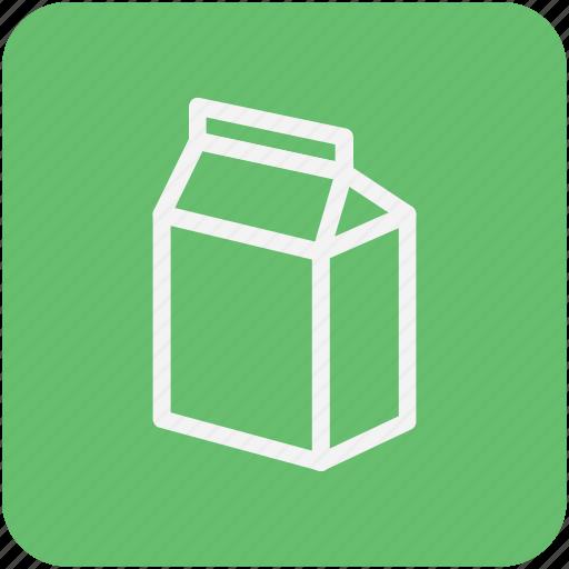 breakfast, healthy, juice carton, liquor food, milk container icon