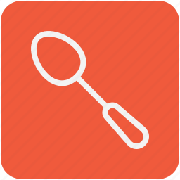 cutlery, eating, flatware, spoon, utensil icon