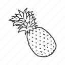 apple, juice, juicy fruit, pine, pineapple, pineapple juice, tropical plant icon