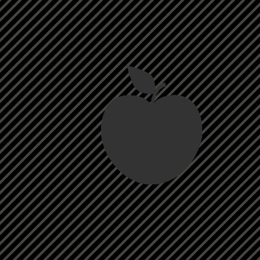 apple, eco, ecology, fruit, green, leaf, nature, nutrition, plant, stem icon