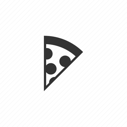 circle, cook, food, italian, kitchen, meat, pepperoni, pizza, restaurant, slice, triangle icon