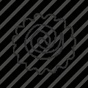 bake, baked fish, cake, emoji, fish, fish cake, swirl design icon