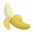 banana, fruit, healthy, monkey, organic, plantain icon