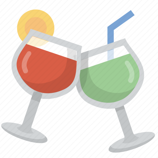 celebration, cheers, cocktail, drinks, party icon